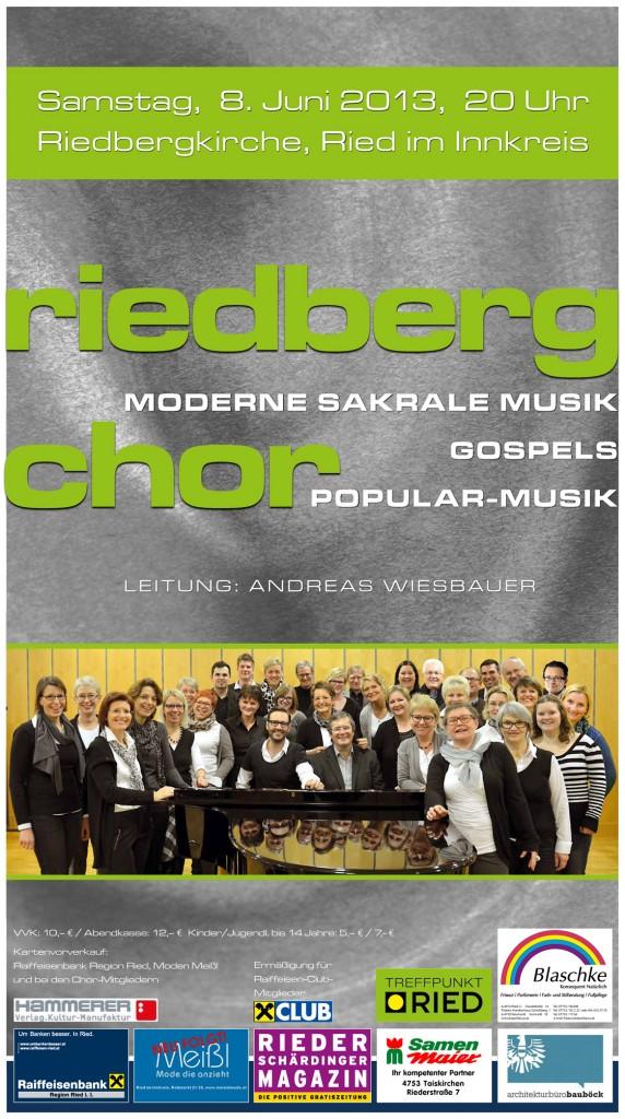 Riedbergchor Konzert 2013